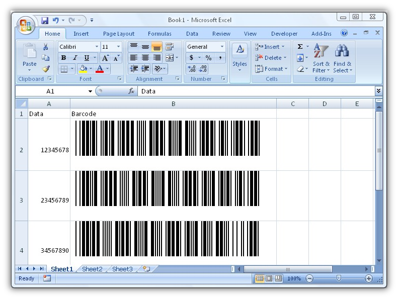 2 of 5 barcode font 2 free engine image for user manual for Barcode font for excel